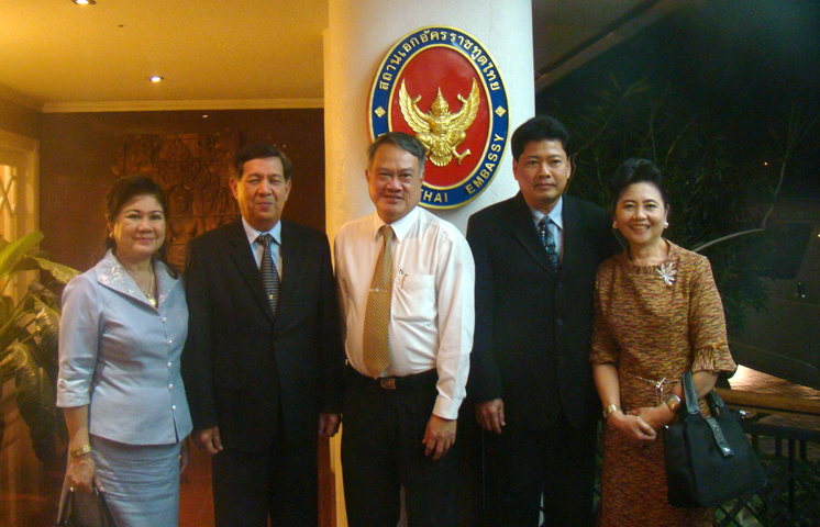 Ambassador hosted dinner in honour of Assistant Commander-in-Chief, Royal Thai Navy